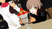 【睦月型静画祭り2021秋】菊月と食欲の秋