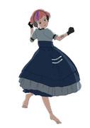 オリジナルキャラクター アクア 「Moonlit Dance」