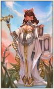 母性、豊作、晴れの日の女神カンナ