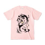 Tシャツ | ライトピンク | 九龍☆拉麺→担担麺