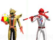 【鋭意制作中】スーパー戦隊の武器セット