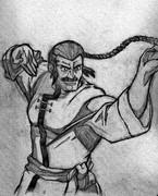 東方さんを描いて(模写)してみた