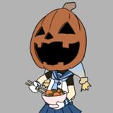 【うごくよ!】カボチャの煮付けを食べるカボチャ様【うごくよ!】