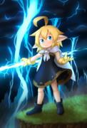 雷の妖精さん