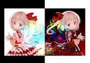 天使と悪魔の女の子