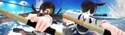 【MMD艦これ】「加賀さんと私の一航戦の誇り、お見せします!」(ゴリマ式 赤城、加賀)