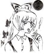 タバコ(意味深)を吸うRyu☆姉貴
