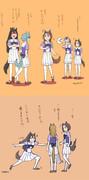 【ウマ娘】キングの悲劇  同期組+ゴルシ