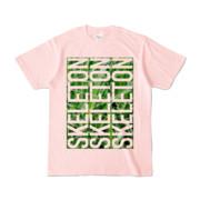 Tシャツ | ライトピンク | SKELETON☆みのー
