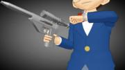 麻酔銃×麻酔銃