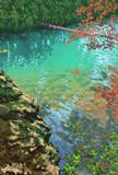 毘沙門沼の彩り