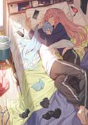 朝寝琴葉姉妹