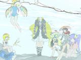 本日の魔女さんたち(問1467:文字無し版)