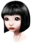 日本人形風