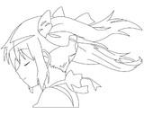 【お絵かき】 魔法少女まどかマギカ トレースしてみる