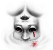 目から血の涙