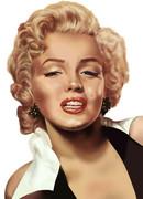 マリリン・モンローの似顔絵