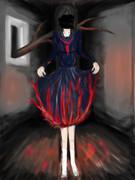 制服のスカートを燃やす16歳の私