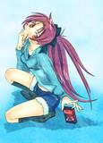 魔法少女の杏子さん