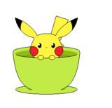 tea‐cap ピカチュウ☆