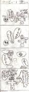 10年前に初めて描いた4コマ漫画