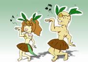 踊るアイドル