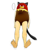 キョロちゃん(猫耳)