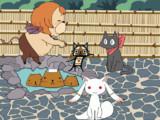 きゅっきゅっきゅっニャーgifアニメ
