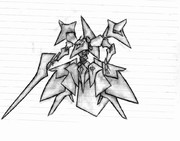 ラクガキ・ロボット       《授業中に描いてみた》