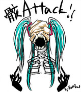 描いてみた【骸Attack!!】