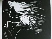 【切り絵】コードギアス ルルーシュ