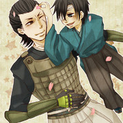 小十郎と梵天丸