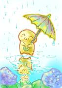 ( ^ω^)内藤雨の日