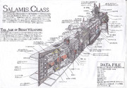 Salamis Class Space Cruicer 内部構造図!