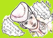 全力でジョウスケ描いてみた(2010年の年賀状作品)