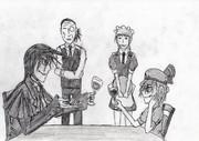 吸血鬼の会食