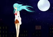 月とエリオちゃん