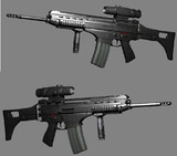 KM Type 80 5.56mm rifle C