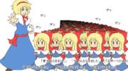 「第3回東方ニコ童祭ED絵企画」 シャンハイ軍団が押し寄せるぞ