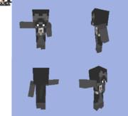 Minecraft用キャラスキン:ダースベイダー