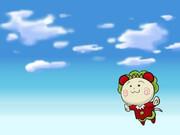 飛ぶコジコジ♪
