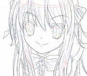 【涼宮ハルヒの憂鬱】線画1
