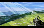 ツーリング風景(ジェベル200と四国カルスト)