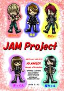 JAM Project描いた