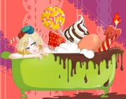 お菓子風呂