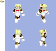 Minecraft用キャラスキン:アイギス