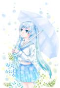 ミク 梅雨