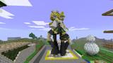 Minecraft で 立体 鏡音リン&レン【作ったもの】