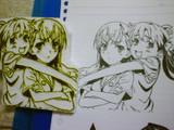 【消しハン】御坂美琴&白井黒子