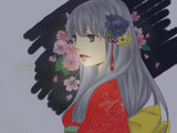 【依頼品】和服の美女